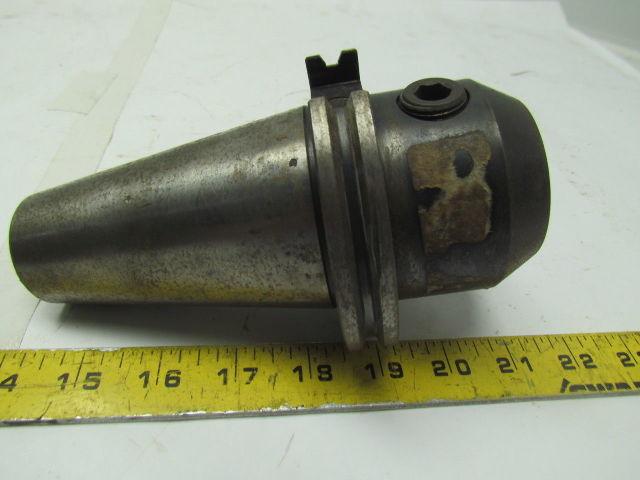 "Valenite V50CT-E125S CAT 50 V-Flange End Mill Tool Holder 2.62 Proj 1-1//4/"" Bore"