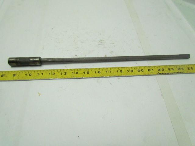Starcut .2795x23.13 OAL 1 Flute Coolant Fed Carbide Tipped Gun Drill