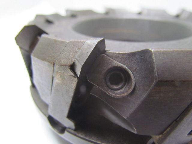 """Carboloy R220-13-05.00-CT 5/"""" Indexable 10 Tool Shell Mill Face Mill"""