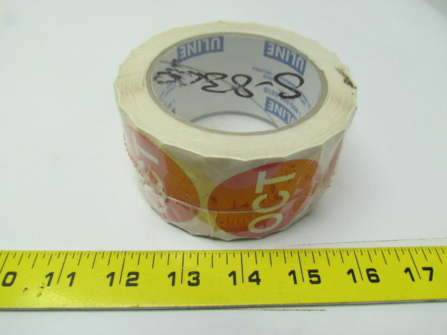 Uline S-8309 Circle Months of the year label october roll of 500 2