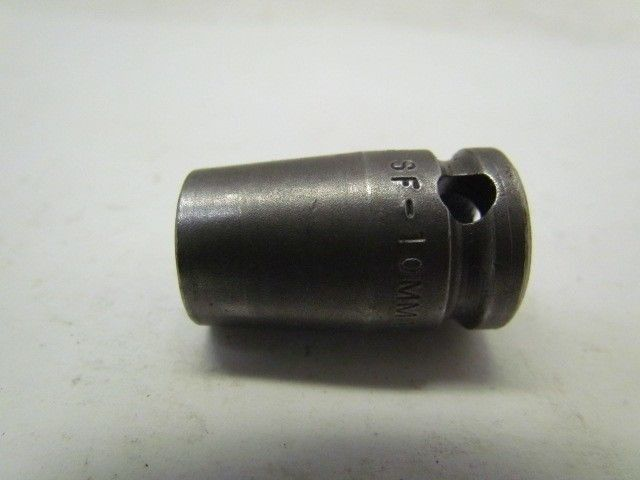 """Cooper Apex SF-10MM13 10 mm 6-Point 3//8/"""" Drive Shallow Well Metric Socket"""