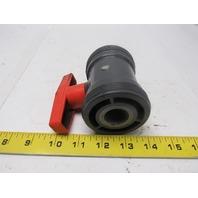 """George Fischer Manual ball valve 15/16"""" w/hex Insert"""