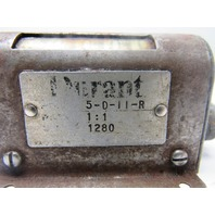 Durant 5-D-11-R - 5 digit mechanical stroke counter RH lever Base mount