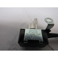 Defond - DTY-1115 On/Off rocker toggle switch 125V 15A