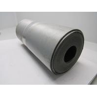 "1 ply black nylon slip top conveyor belt 41ft x 16-3/4"" x 0.075"" thick"