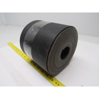 "2 ply black smooth top conveyor belt 19ft x 5-3/4"" x 0.140"" thick"