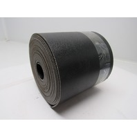 "2 ply black smooth top conveyor belt 24ft x 7-3/8"" x 0.140"" thick"