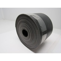 "2 ply black smooth top conveyor belt 34ft x 6-1/4"" x 0.140"" thick"
