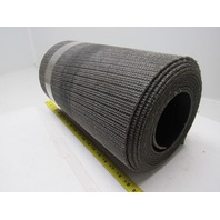 "1 ply black interwoven conveyor belt 20ft x 16-1/4"" x 0.205"" thick"