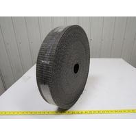 "1 ply black interwoven conveyor belt 111ft x 3.5"" x 0.205"" thick"