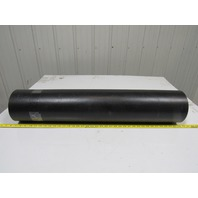 "2 Ply Black Smooth Top Conveyor Belt 11Ft X 35-5/8"" 0.140"" Thick"
