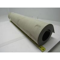 "2 Ply Grey PVC Smooth Top Conveyor Belt 17Ft X 21-7/8"" 0.050"" Thick"