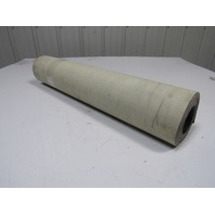 "2 Ply Grey PVC Smooth Top Conveyor Belt 20Ft X 24-7/8"" 0.050"" Thick"