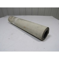 "2 Ply Grey PVC Smooth Top Conveyor Belt 12Ft X 23-3/4"" 0.050"" Thick"