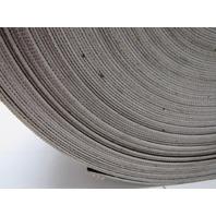 "1 Ply Black Nylon Backed Conveyor Belt 166' x 21-1/2"" 0.070"" thick"