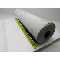 "1 Ply Black Nylon Backed Conveyor Belt 24' x 24"" 0.070"" thick"