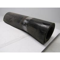 "1 Ply Black Top PVC Rubber Conveyor Belt 6' X 23-3/4"" 0.140"" Thick"