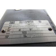 Winsmith 5CTD 750:1 Ratio .42HP 1800RPM Input 3066 Output Torque NIB