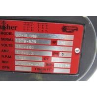 Gusher UD XLONG 3/4HP Vertical Discharge/Coolant Pump 230/460V 60HZ 3PH