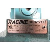 "Racine PSV PSSO 10HRM 51 Silent Vane Pump 7.5 GPM 2000 PSI 3/4"" Shaft"