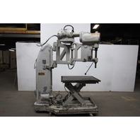 The Foot-Burt Co. Radial Arm Drill  440V 3 Speed With Heavy Duty Lift Table