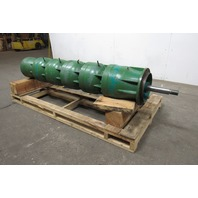 "Believed To Be A Goulds 10"" 4 Stage Vertical Turbine Pump Rebuilt"