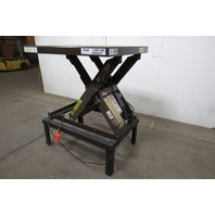 "AutoQuip Series 35 4000 Lb. 460V 3Ph Lift Table 40""x48"" Top 24""-59"" Height"