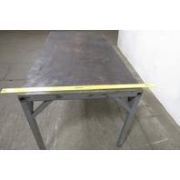 "Steel Industrial Weld Layout Assembly Work Table Bench 72""x38"" 3/4"" Top"