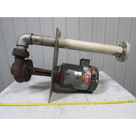 "Gusher 11032NS-A Series 7800 Coolant/Vertical Discharge Pump 10 HP 3"" Discharge"