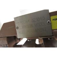 "Clarkson KGD2-AC-EHMNSVZ 2"" Knife Gate Valve w/ Pneumatic Cylinder 150 PSI"