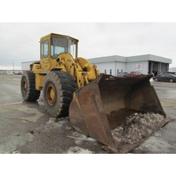 Caterpillar 966B 4 WD Wheel Loader Payloader D333 Turbo Six Cyl 150 FWHP Engine