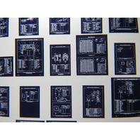 Cat Caterpillar 963 Track loader Vintage Microfiche Parts Catalog 5 Cards
