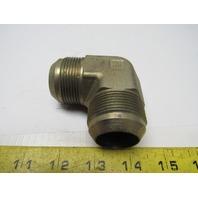 Hydraulic Fitting 90° Union Elbow 1-1/4X 1-1/4 JIC 1-7/8-12  x 1-7/8-12 Thread