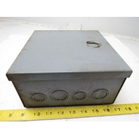 "A-B Allen Bradley X-243967 (2) Overload Relays In 8""x8""x6"" Enclosure"