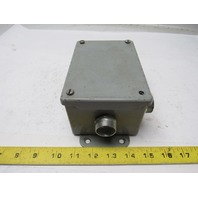 "Hoffman A-604SC Type 12 Electrical Enclosure 6"" X 4 "" X 3"""
