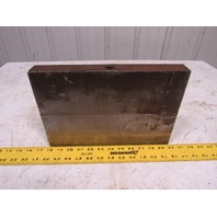 "Machinist Angle Set Up Inspection Block 12"" W x 8"" x 8"" x 1-1/2"" Thick"