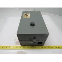 Westinghouse B200MACAC B200SACAC NEMA 1 Motor Starter 120V Coil 3 With Box
