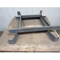 """Heavy Duty Industrial Steel Shop Table Legs Workbench Legs 32"""" Tall Lot of 2"""