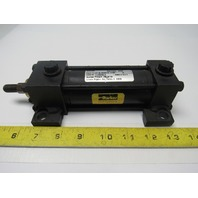 """Parker 01.50 CMAU14A 3.000  1-1/2"""" Bore 3"""" Stroke Pneumatic Cylinder 200psi"""