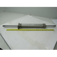 """SMC NCA1WF150-1000 1-1/2"""" Bore 10"""" Stroke Double Ended Push Pull Air Cylinder"""