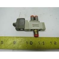 SMC SY3120-5WOZ-N7 Pneumatic Solenoid Air Valve W/24VDC Coil