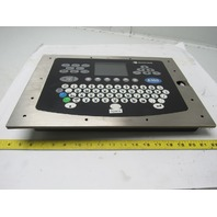 Domino A100 Industrial Inkjet Barcode Printer Display Operator Keyboard