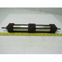 """Miller Fluid Power AL50B2N Double Pneumatic Cylinder 1.5"""" Bore X 3"""" Stroke"""