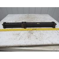 "Schrader Bellows NC9-MX0-0250 Pneumatic Cylinder 2.5"" Bore x 9""+ 16"" Stroke"