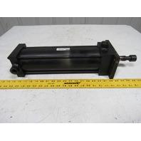 "Parker 04.00 J2ANUS13A 12.500 4"" Bore X 12.5"" Stroke Pneumatic Cylinder"