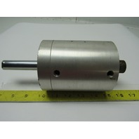 """Fabco F-521-XDR Pancake Pneumatic Cylinder 2-1/2"""" Bore X 3"""" Stroke Double"""