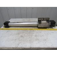 "HoerbigerOriga P126-S/20X22-BM Pneumatic Rodless Cylinder 63mm Bore X 22"" Stroke"