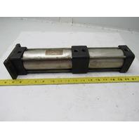 "SMC NCA1F250-0325+0175-XC11 2-1/2"" Bore X 3-1/2+1-3/4"" Stroke Pneumatic Cylinder"