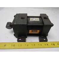 "Parker 02.50 C2ANU14A 1.000 Pneumatic Cylinder 2-1/2"" Bore X 1"" Stroke"