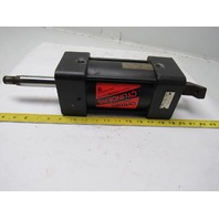 """Ortman Double Ended Pneumatic Cylinder 4"""" Bore X 4"""" Stroke"""